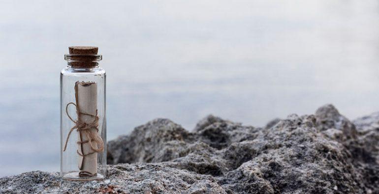 mensaje marinero ruso botella