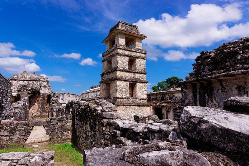 Palenque Mayas maya