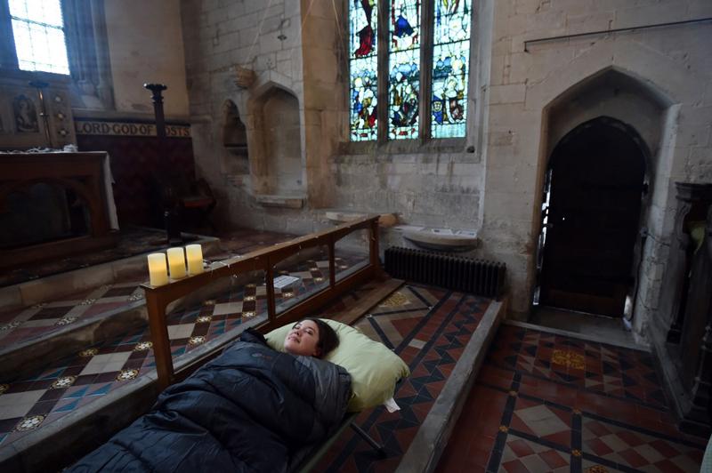 vieja iglesia Inglaterra Terror