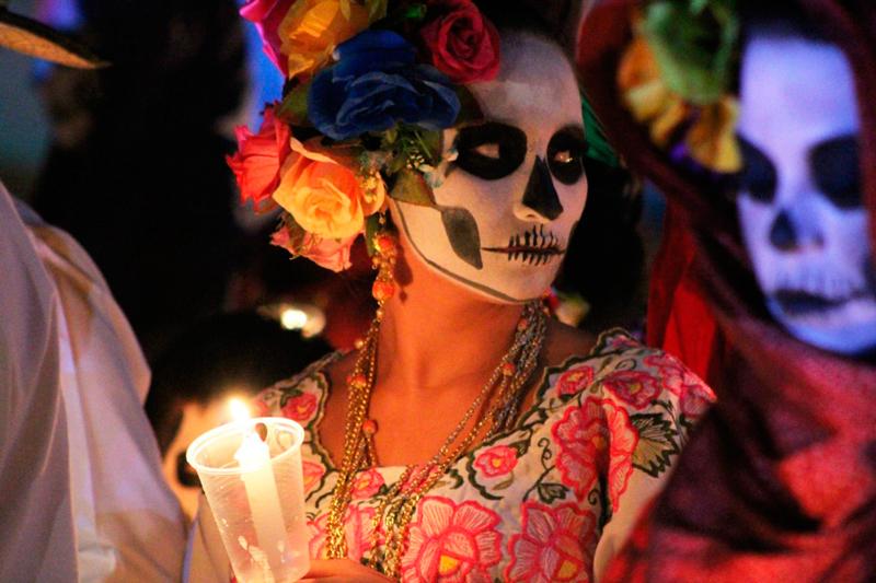 Día de Muertos Maya