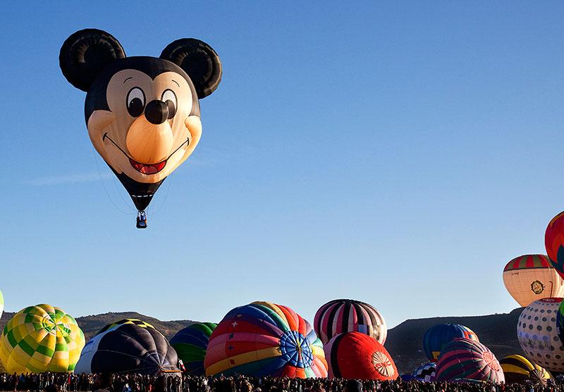 Mickey Mouse Festival Internacional del Globo