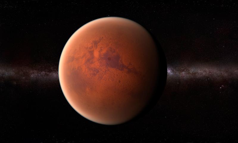 Marte oxígeno