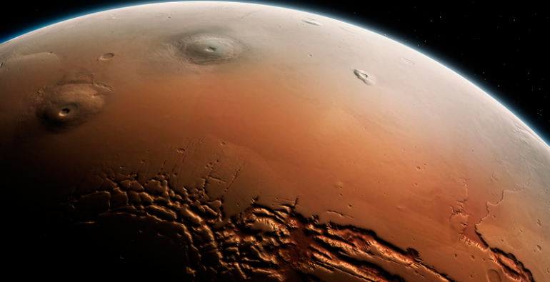 NASA Marte Oxígeno