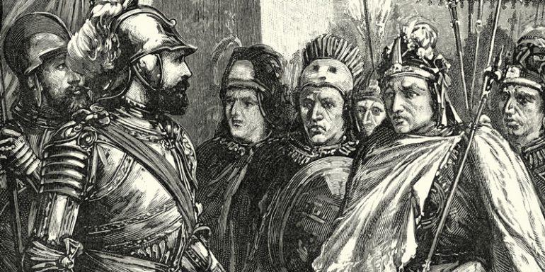 Moctezuma Hernán Cortés