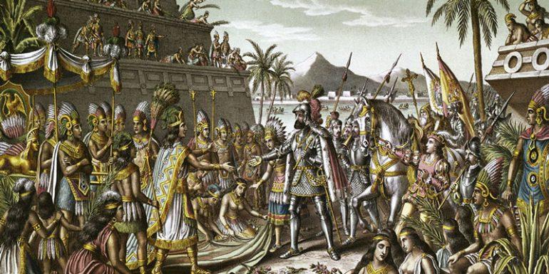 Hernán Cortés Moctezuma Encuentro