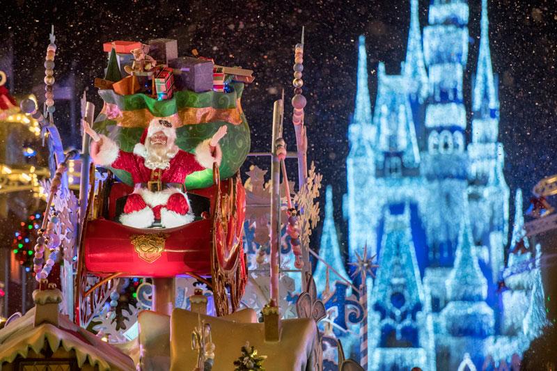 Navidad en Walt Disney World.