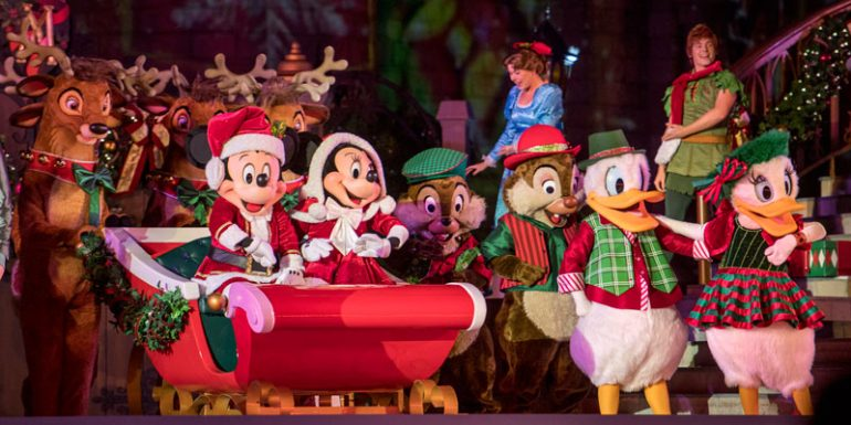 Navidad en Walt Disney World