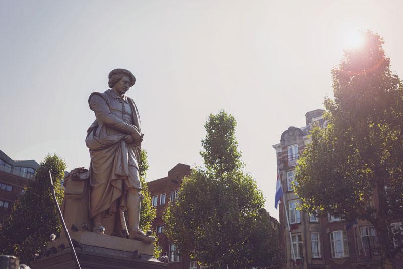 Rembrandtplein Ámsterdam Rembrandt