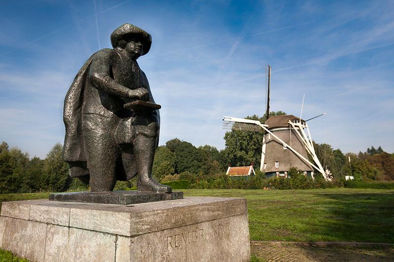 Ámsterdam, Holanda. Rembrandt