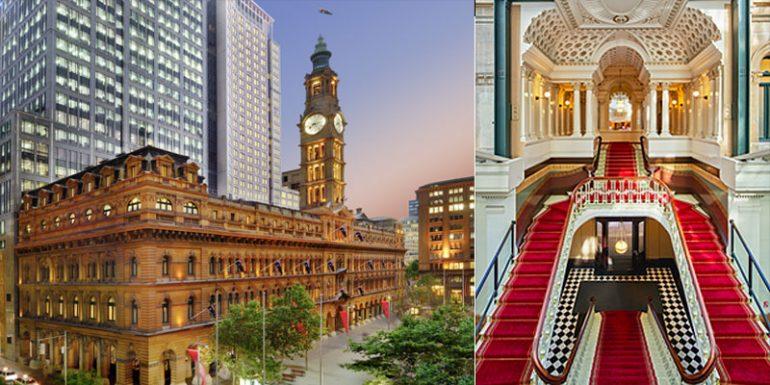 Fullerton Hotel Sydney antigua Oficina General de Correos
