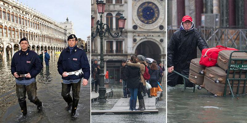 10 imágenes que muestran la terrible inundación en Venecia - National Geographic en espanol