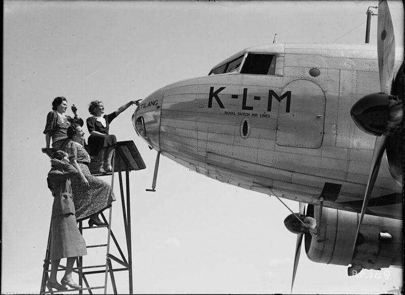 KLM avión aerolínea internacional