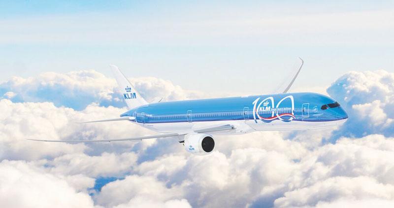 100 años KLM