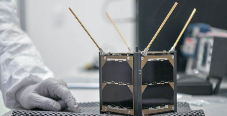 nanosatélite NASA México