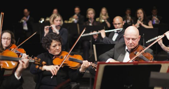 Músicos orquesta