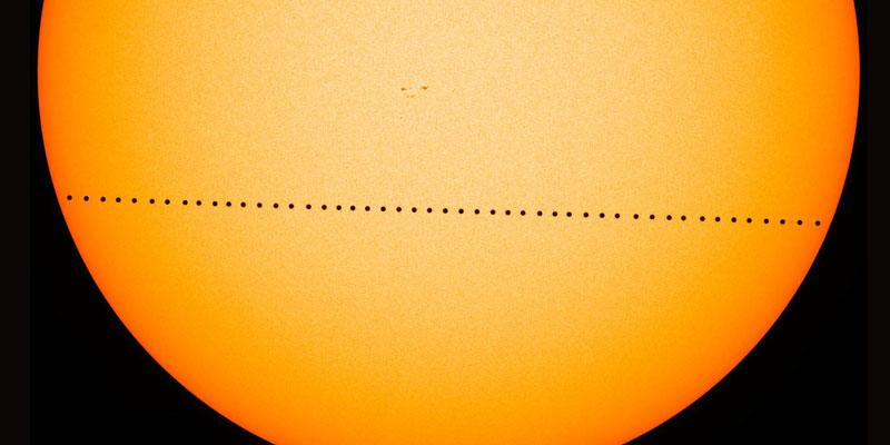 Sol Mercurio Tierra Tránsito de Mercurio