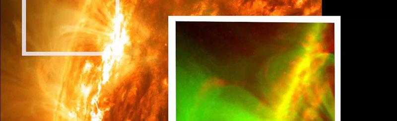 NASA Sol explosión magnética
