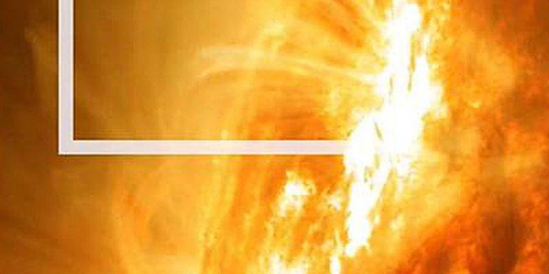 explosión magnetica Sol