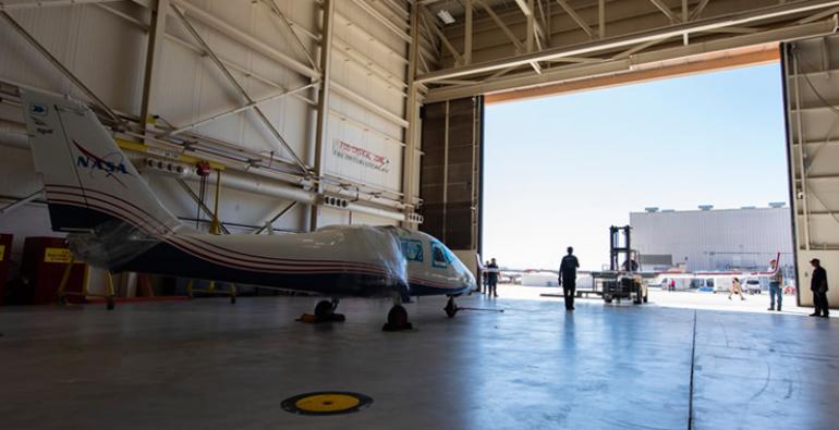 primer avión experimental totalmente eléctrico de la NASA