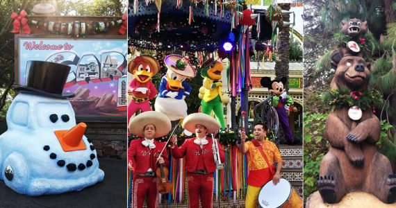 Disney California Adventure Park Navidad
