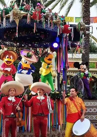 Navidad en Disney California Adventure Park