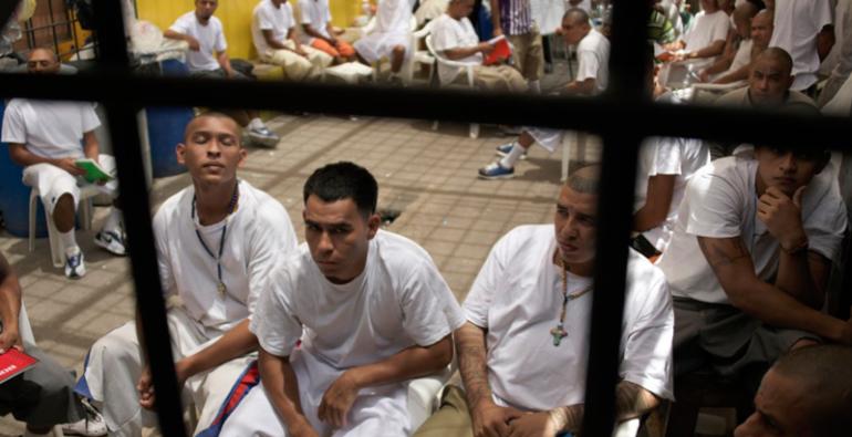 cárcel Universidad El Salvador