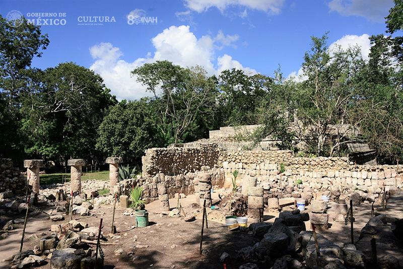 columnas zona arqueológica