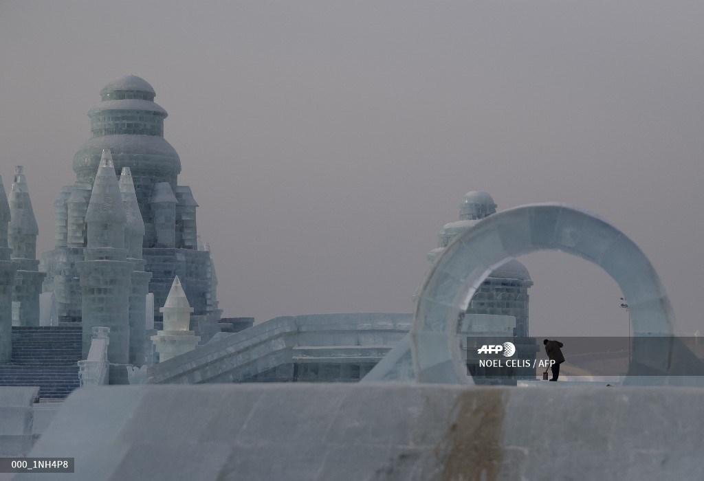 esculturas de hielo China