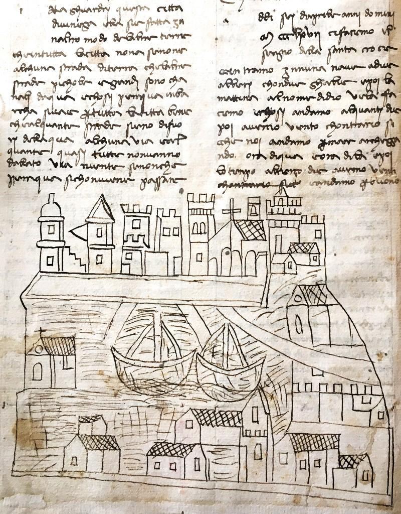 Mapa Venecia