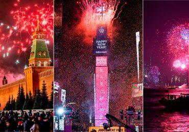 Año Nuevo 2020 mundo