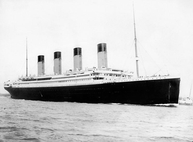 Titanic pecio
