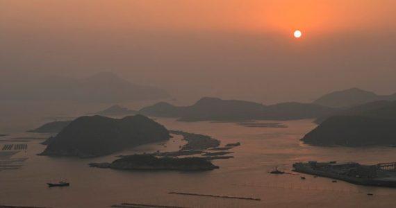 Xiapu amanecer China