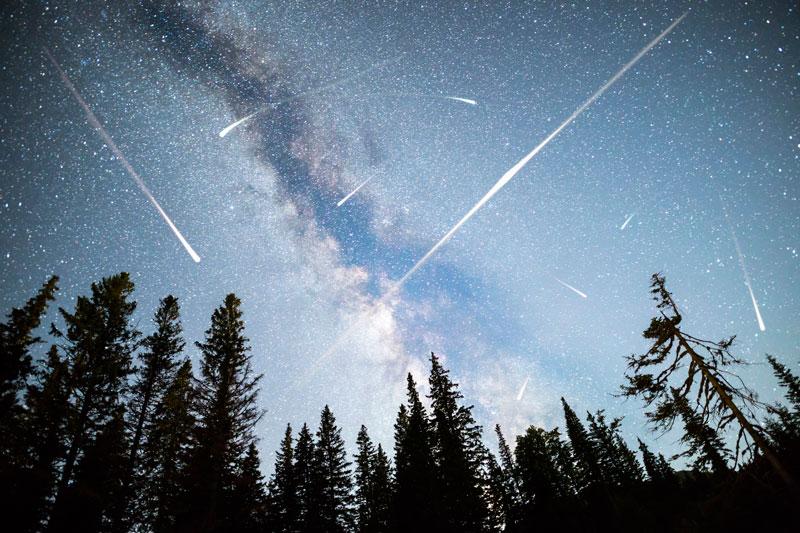 Cuadrántidas lluvia de meteoros