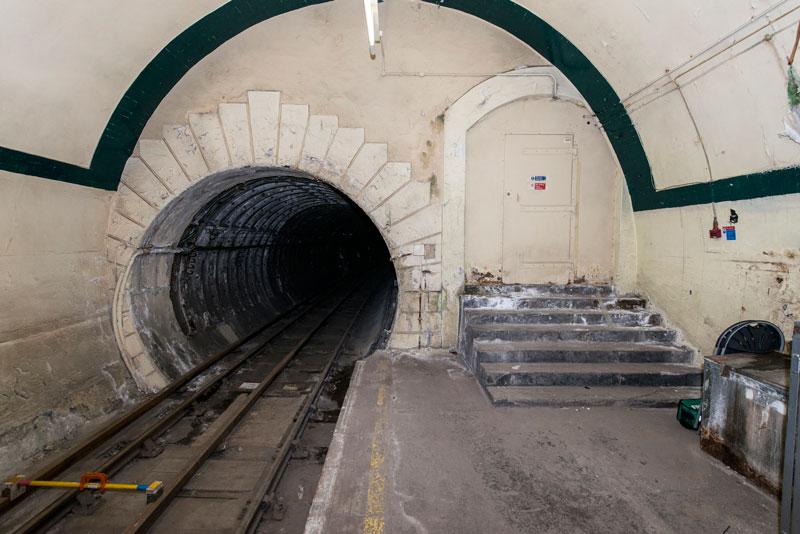 estación fantasma de Aldwych estaciones abandonadas