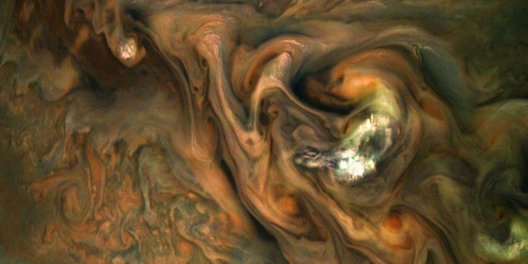 Nubes en Júpiter