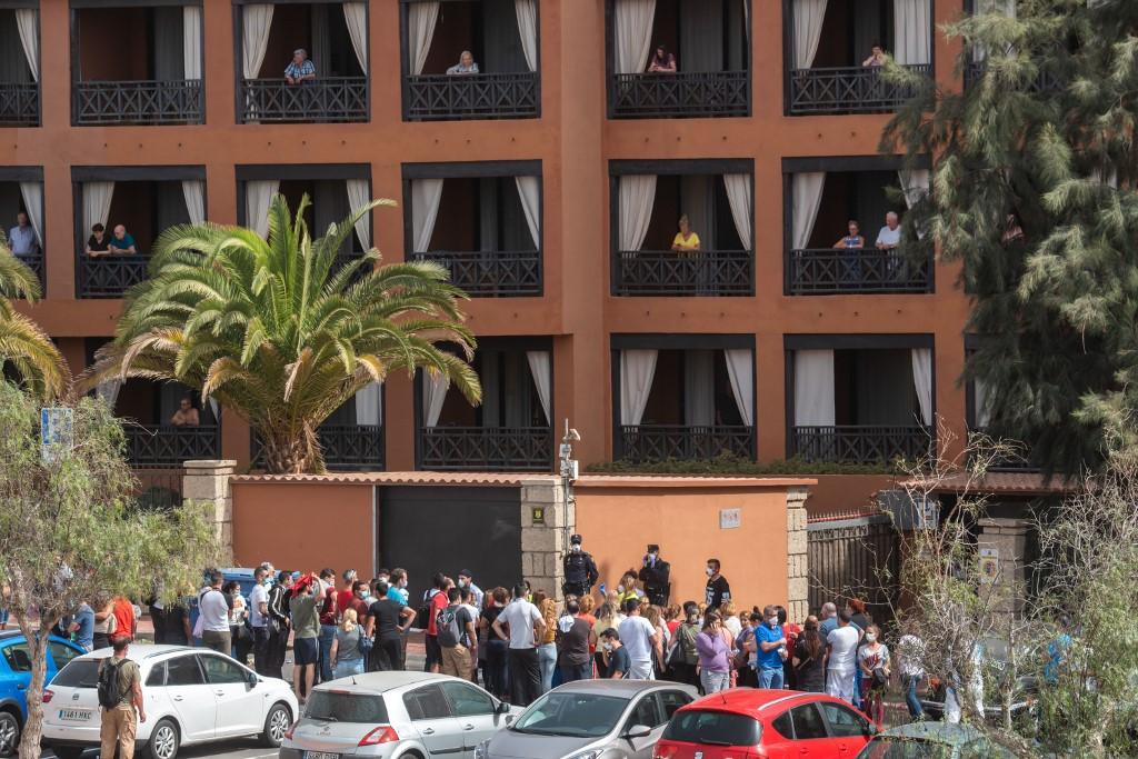 Hotel Tenerife España coronavirus