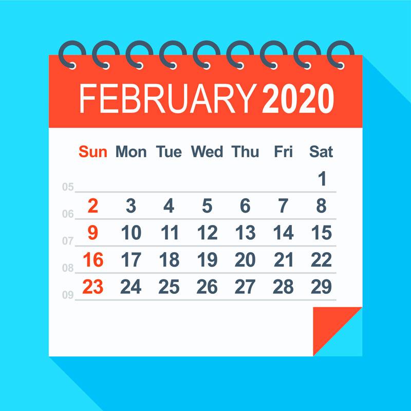 febrero de 2020