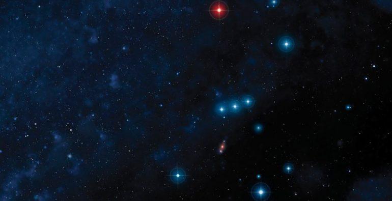 Betelgeuse Orión estrella