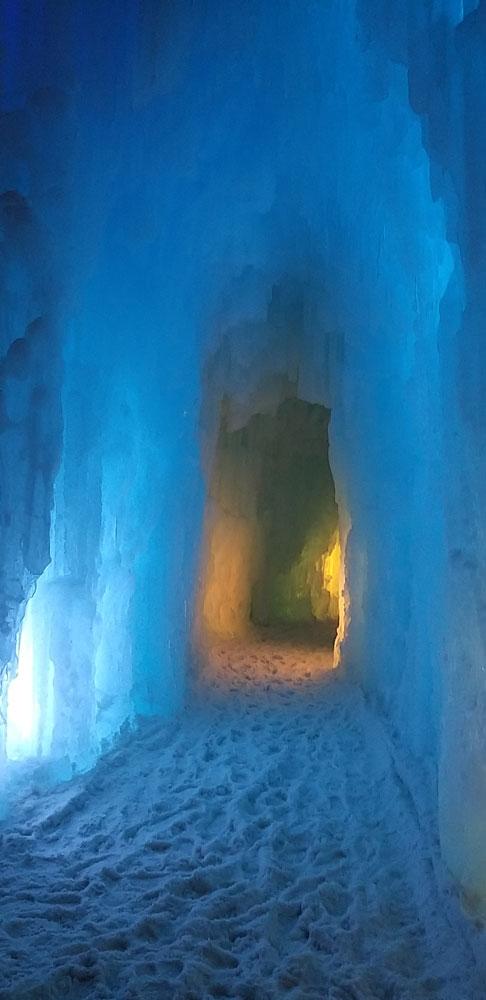 castillo de hielo Edomonton Canadá