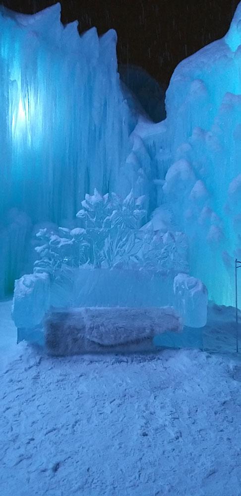 trono de hielo
