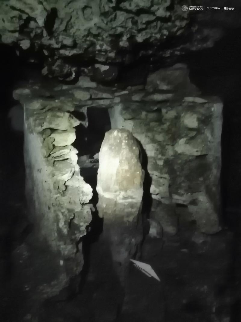 INAH La Cueva del Templo de La Estalagmita
