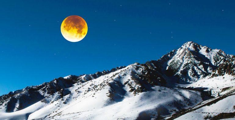 Luna de nieve