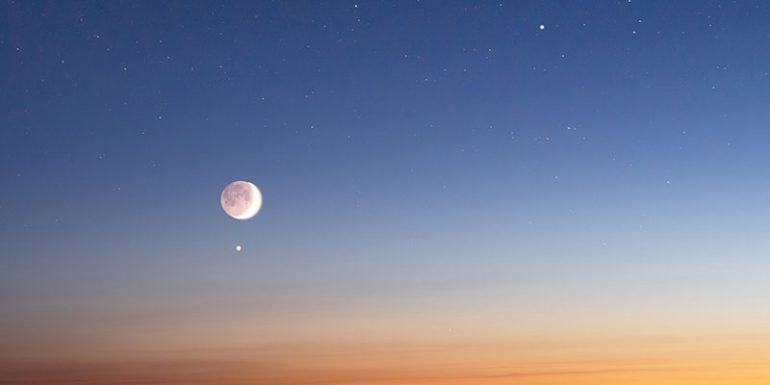 conjunción Luna Venus