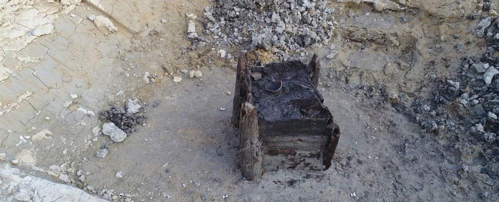 pozo de madera