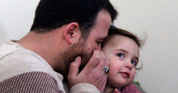 niña Siria bombardeos