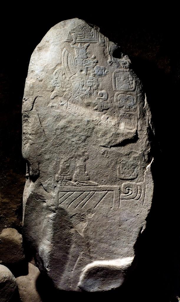 escritura maya Estela Guatemala