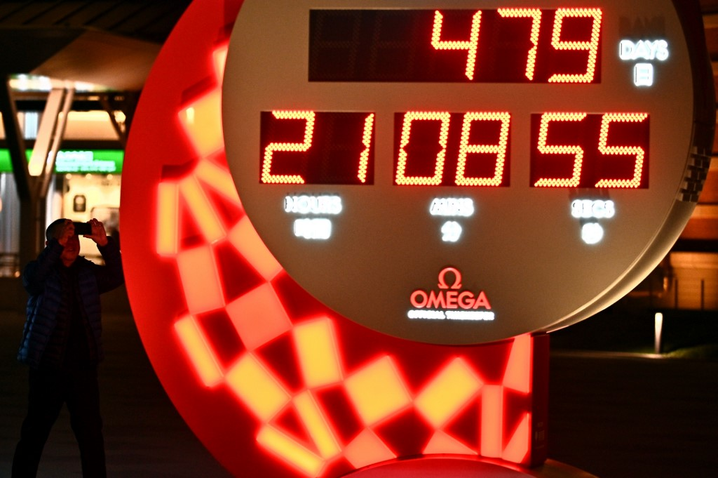 reloj con la cuenta regresiva