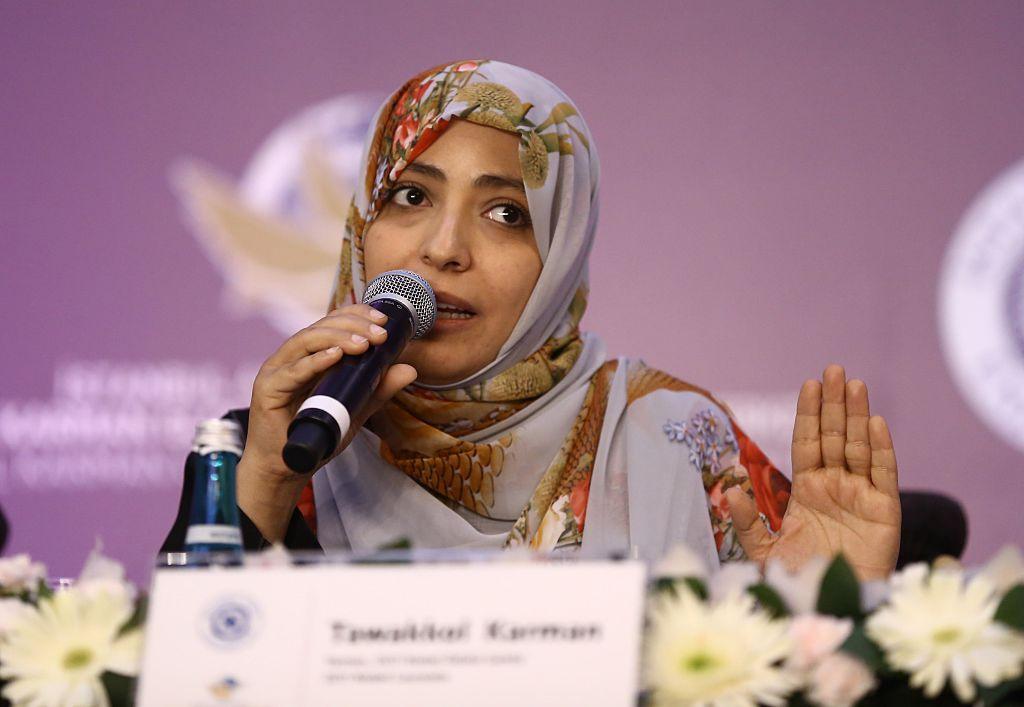 Tawakkul Karman mujeres