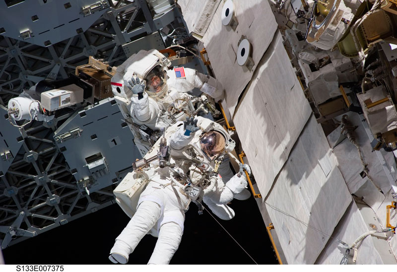 astronautas cuarentena