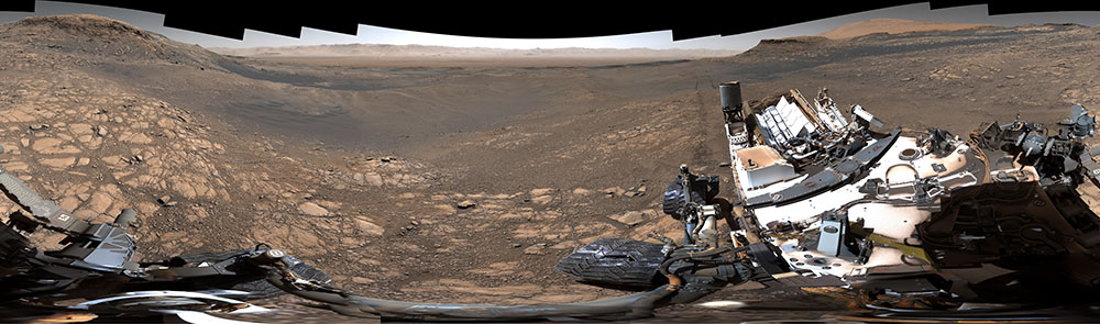 Marte Curiosity Imagen